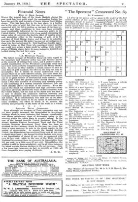 The Spectator Crossword No 69 By Xanthippe 19 Jan 1934 The Spectator Archive
